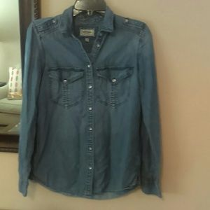 Express Soft Jean Shirt